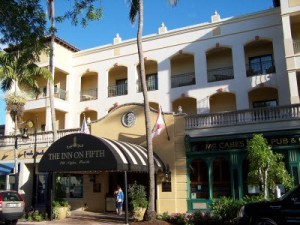 Inn on Fifth on 5th Ave S in Olde Naples