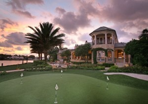 Port Royal Homes For Sale on Galleon Drive showing putting green